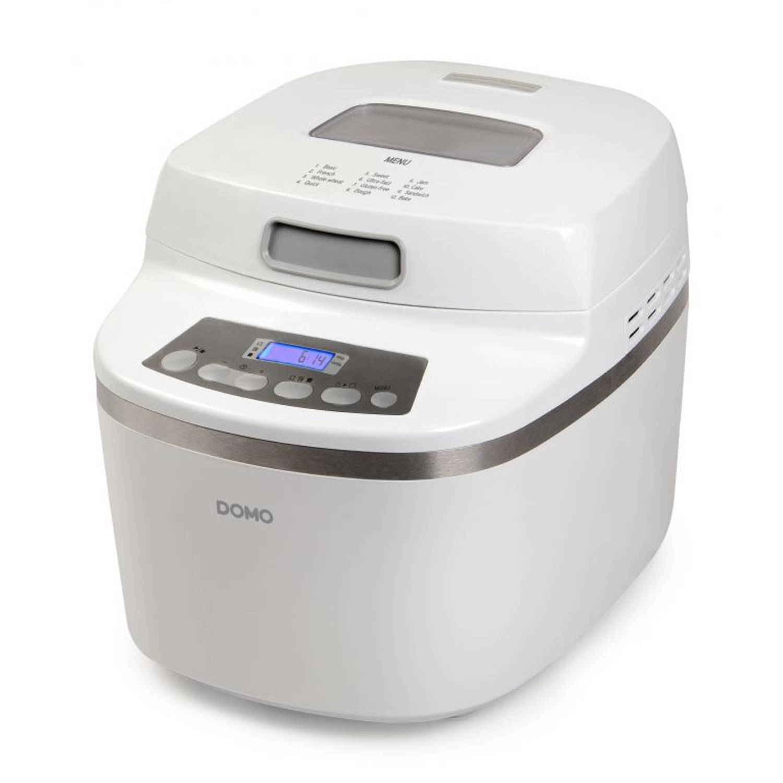 DOMO B3959 Broodbakmachine Super Silent 750-1000 gram, glutenvrij programma
