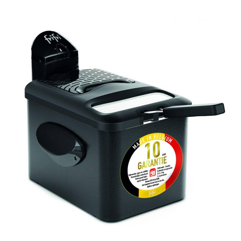 FriFri 1905A DuoFil - HSCMF4305 High Speed Classic Filter 3200 Watt koude zone 3,5L friteuse metal zwart