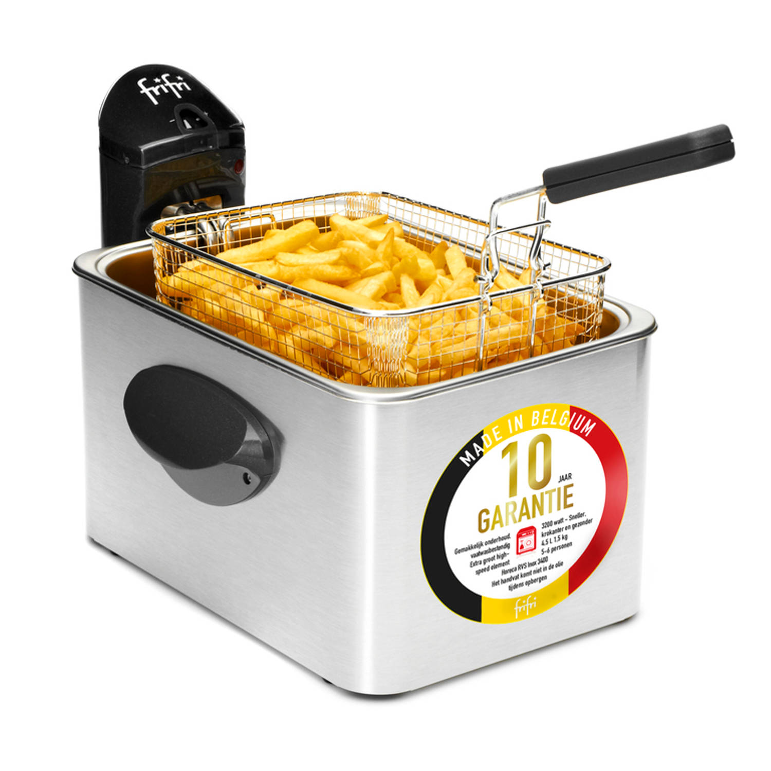 FriFri 5848 - HSCC7150 High speed classic family clean 3200Watt koude zone 4,5 L RVS friteuse