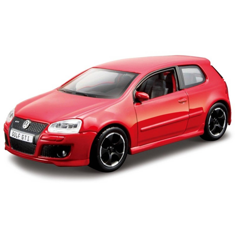 Modelauto Volkswagen Golf 5de generatie GTI 1:32 - speelgoed auto schaalmodel