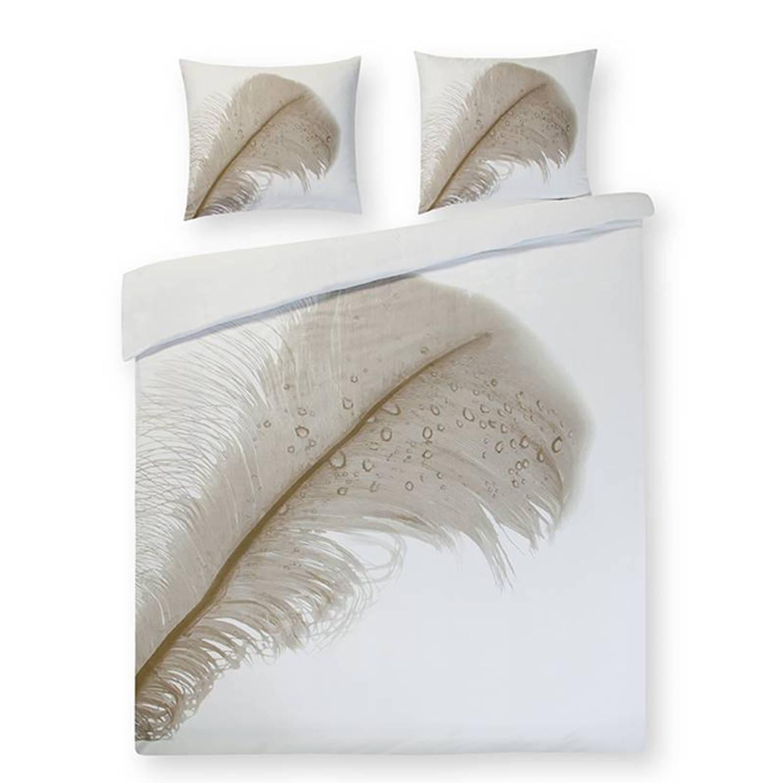 Papillon Pluma dekbedovertrek - Lits-jumeaux (240x200/220 cm + 2 slopen)