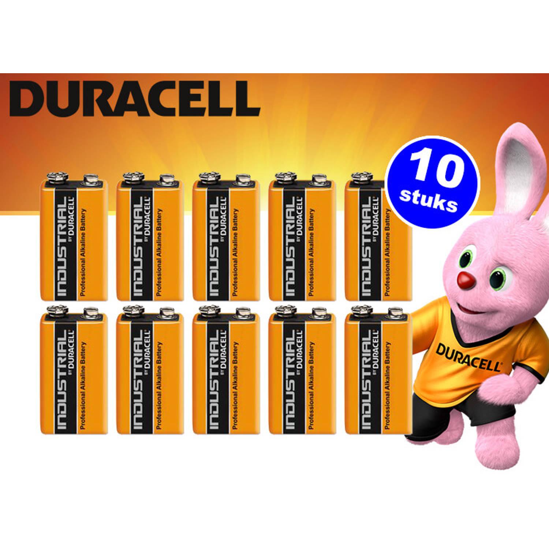 Batterij Industrial 10 stuks 9Volt alkaline