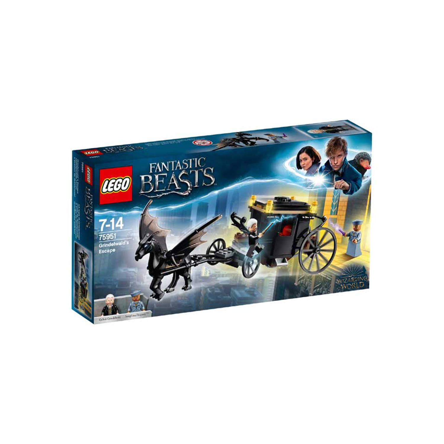 LEGO Harry Potter Grindelwalds ontsnapping 75951