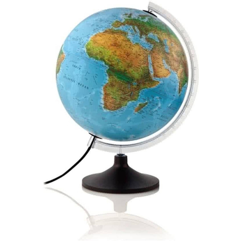 Afbeelding van Globe solid line 30cm engelstalig