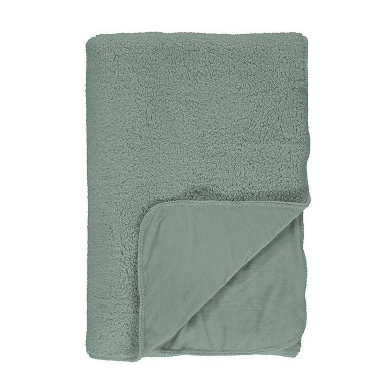 Essenza Lammy plaid - 100% polyester - 150x200 cm - Groen