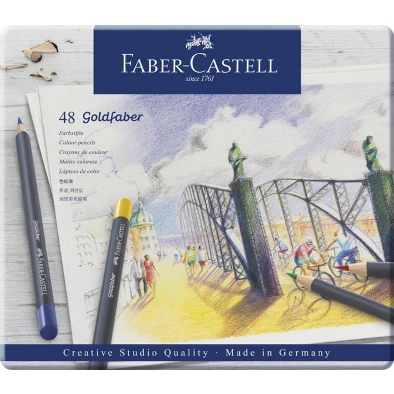 Kleurpotlood Faber castell Goldfaber Etu