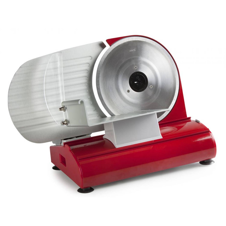 DOMO DO522S Snijmachine 22 cm INOX rood luxe