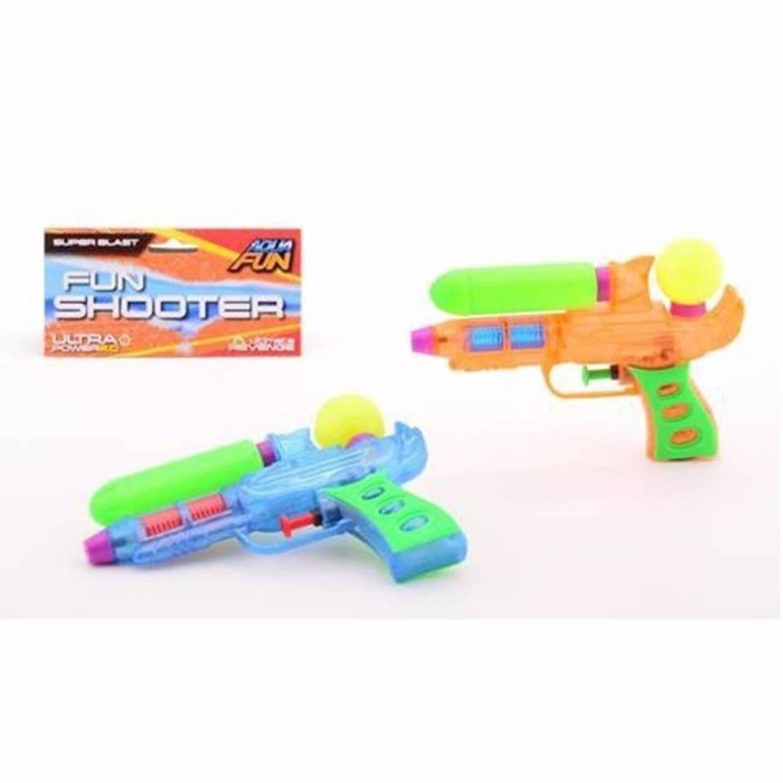 Afbeelding van 10 voordelig waterpistooltjes gekleurd