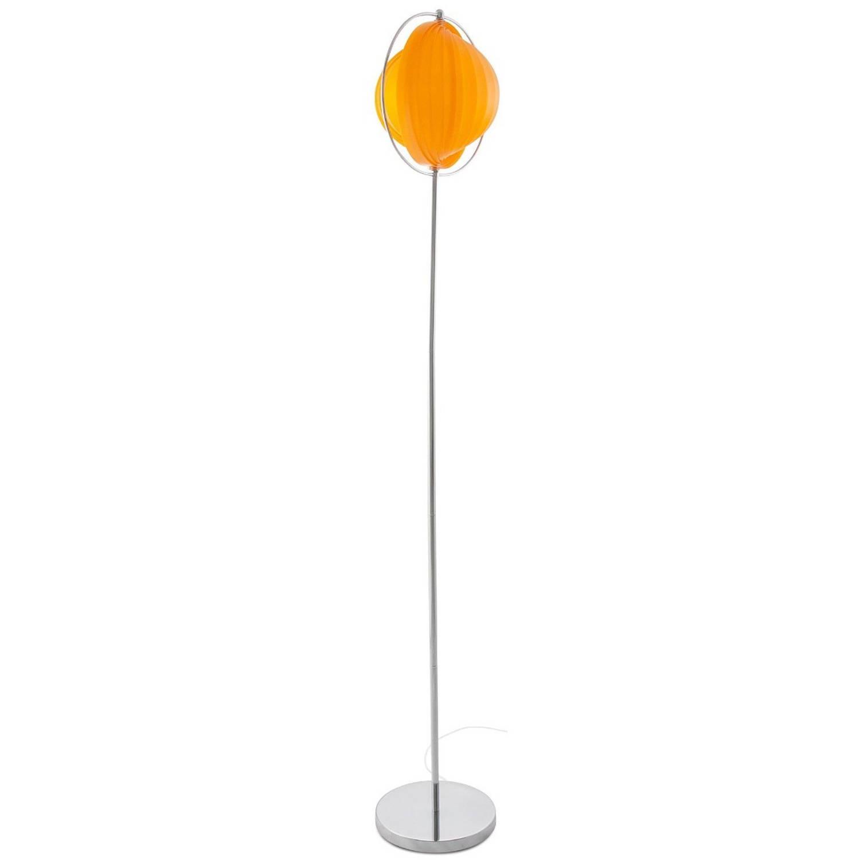 24Designs Vloerlamp Mira - H160 - Kunststof - Oranje