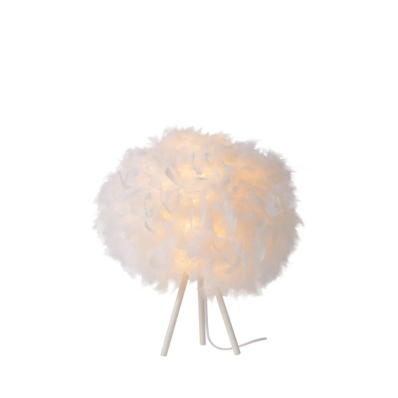 Lucide GOOSY SOFT - Tafellamp - Ø 50 cm - Wit