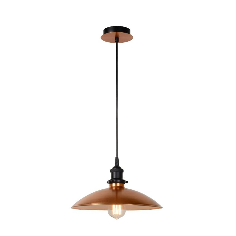 Lucide BISTRO - Hanglamp - Ø 32 cm - Koper