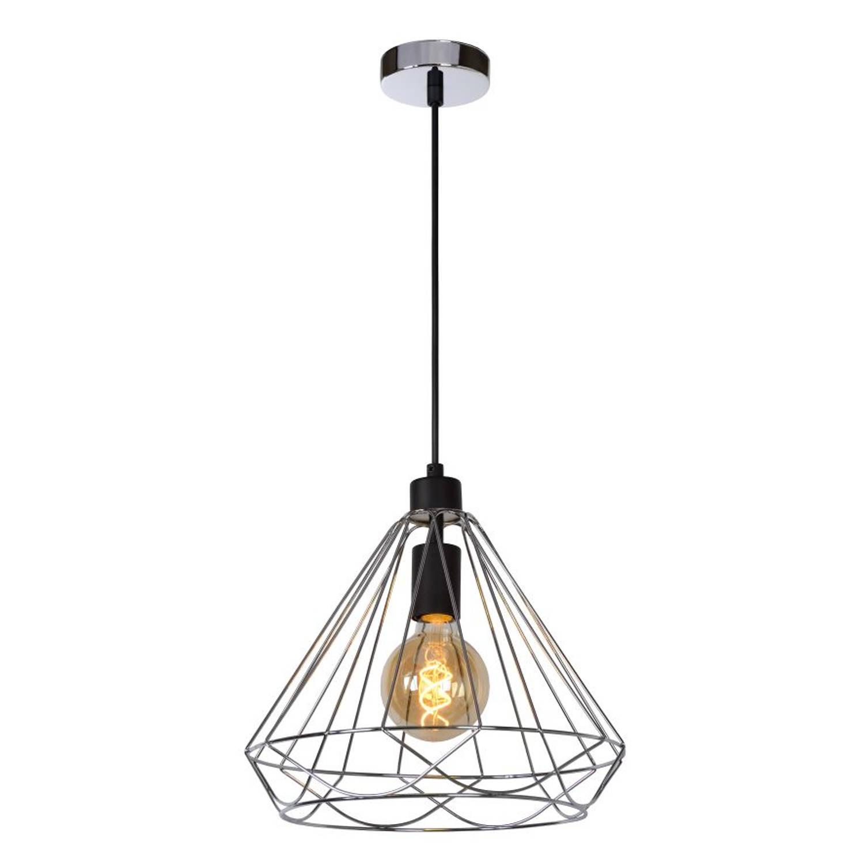 Lucide KYARA - Hanglamp - Ø 32 cm - Chroom