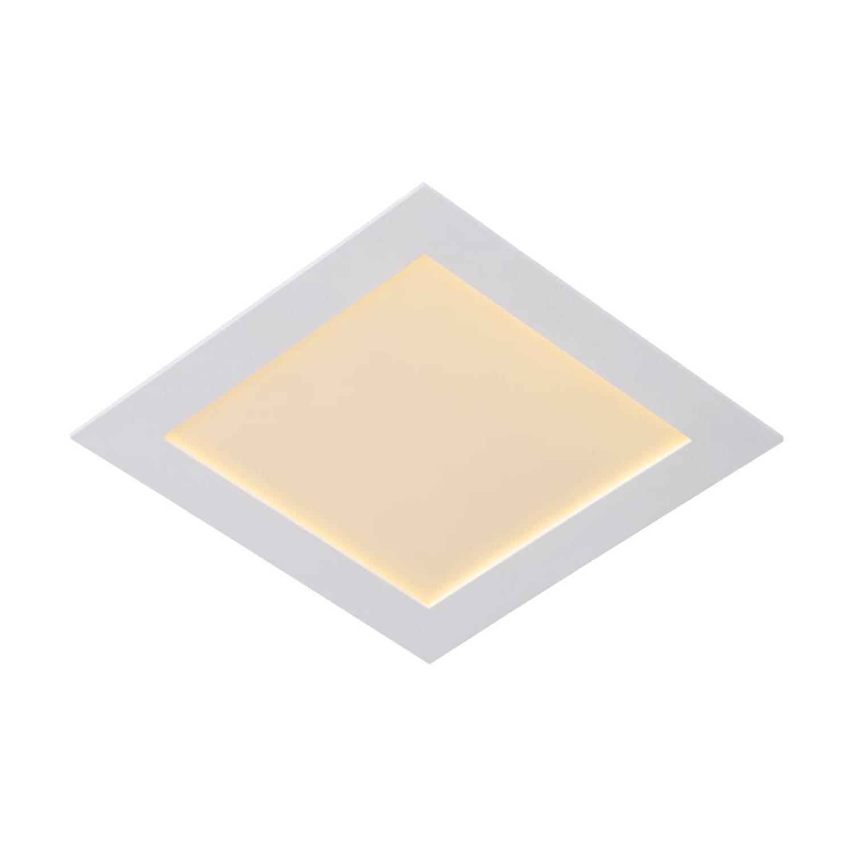 Lucide BRICE-LED - Inbouwspot - LED Dimb. - 1x22W 3000K - IP40 - Wit