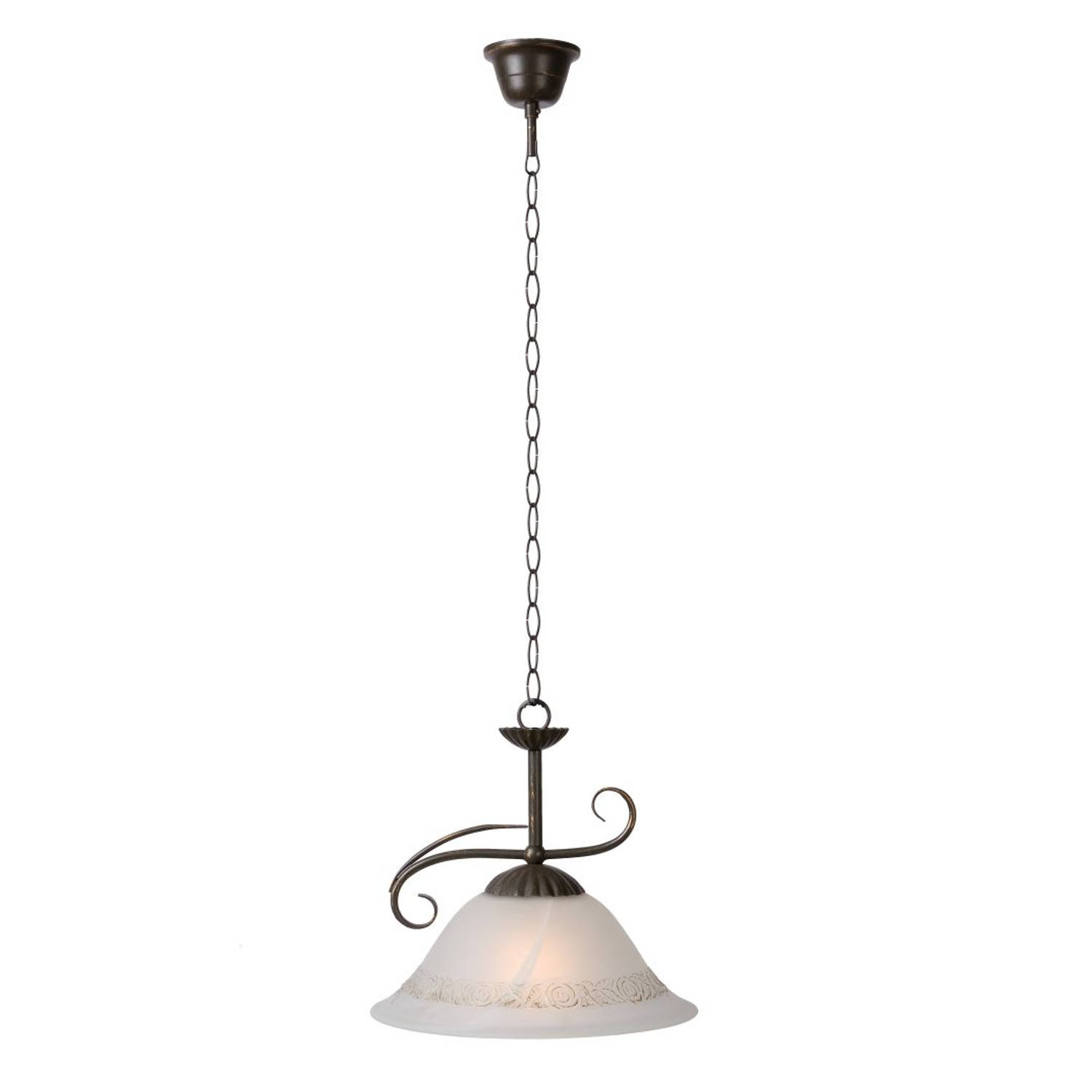 Lucide CALABRE - Hanglamp - Roest bruin