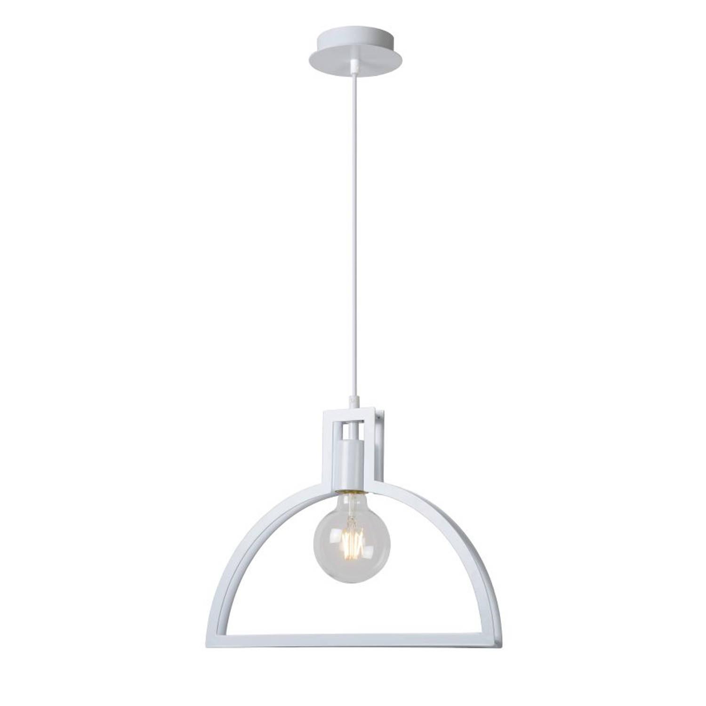 Lucide CONTOUR - Hanglamp - Ø 40 cm - Wit
