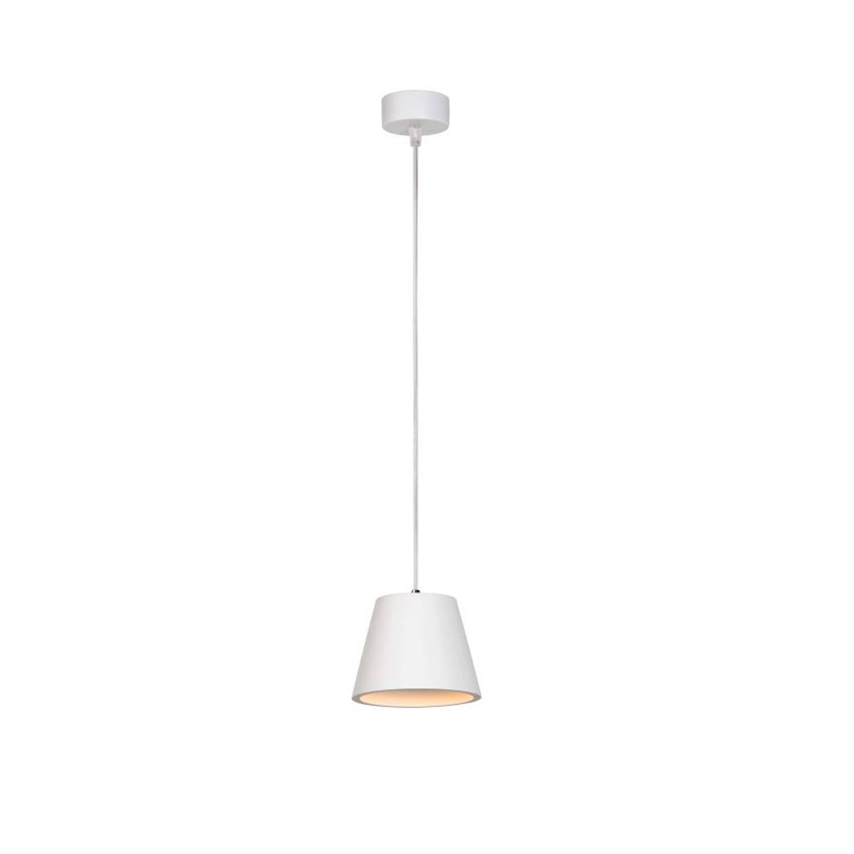 Lucide GIPSY - Hanglamp - Ø 13 cm - GU10 - Wit