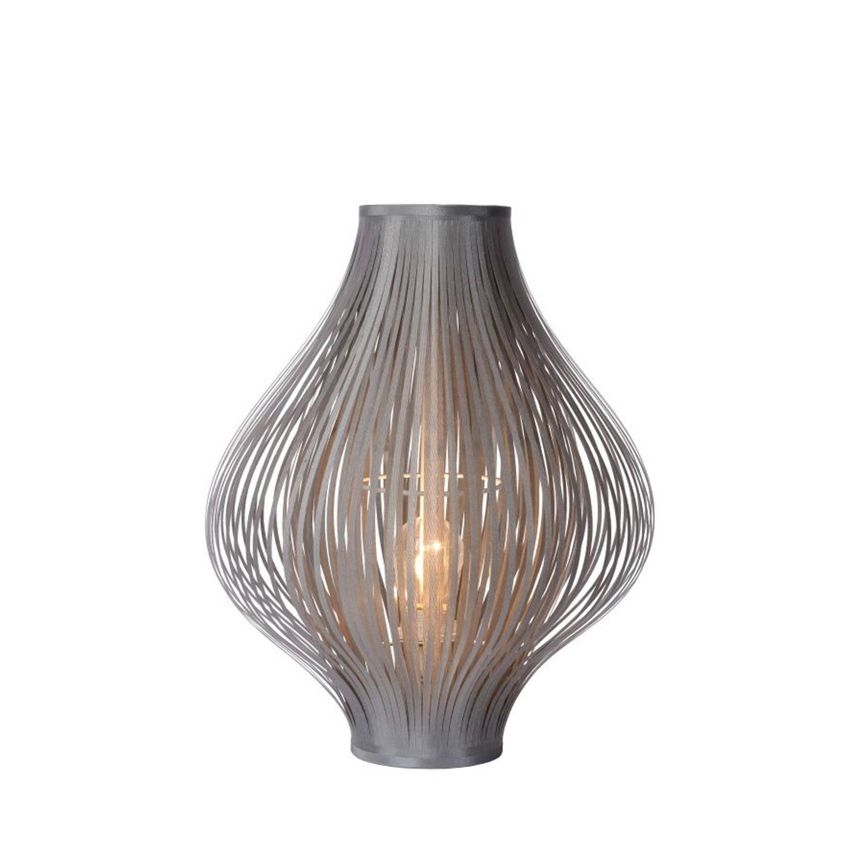 Lucide POLI - Tafellamp - Ø 36 cm - Grijs