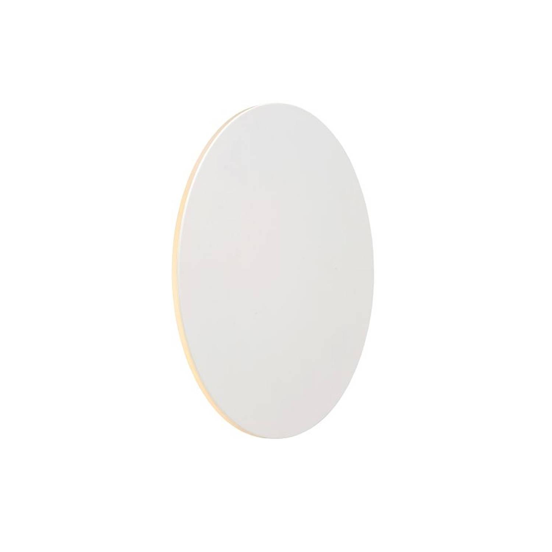 Lucide EKLYPS LED - Wandlamp - Ø 25 cm - LED - 1x8W 3000K - Wit