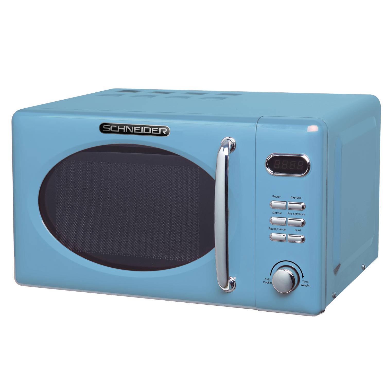 Schneider mw 720 lb retro magnetron light blue