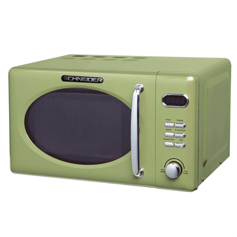 Schneider mw 720 sg retro magnetron groen