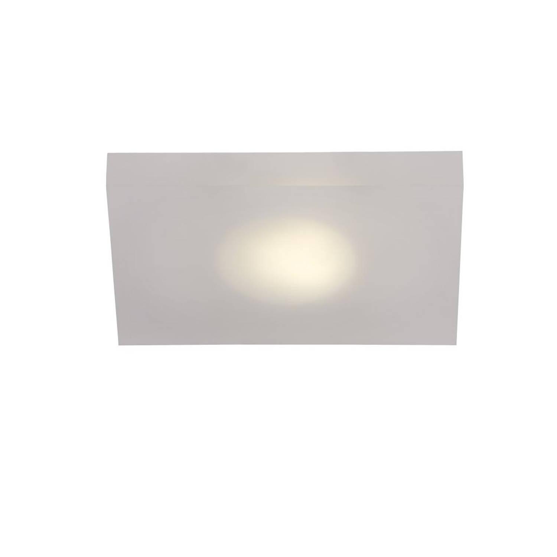 Lucide WINX-LED - Wandlamp Badkamer - LED - 1x7W 3000K - IP21 - Opaal