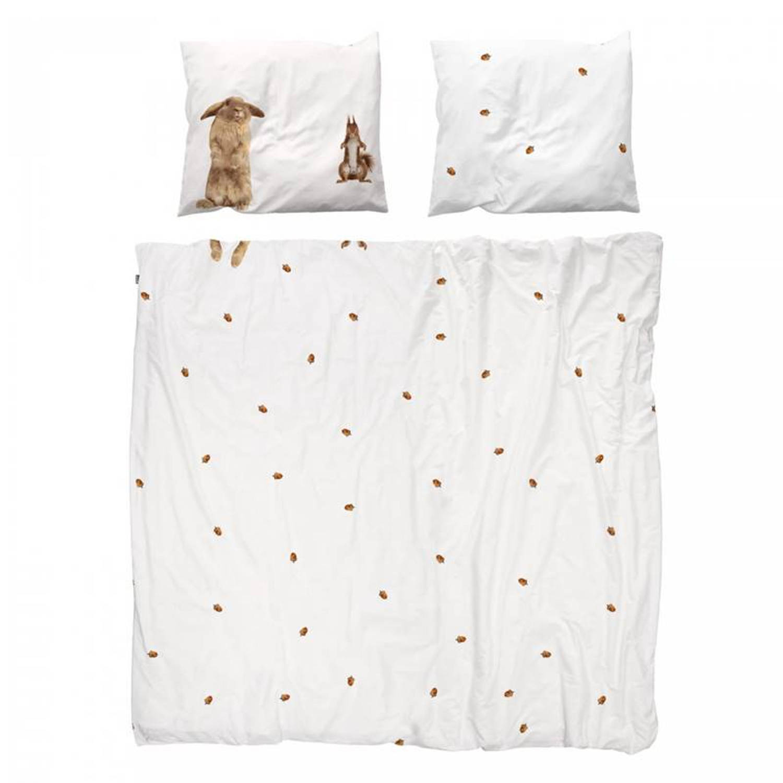 Snurk Beddengoed SNURK Furry Friends dekbedovertrek - 2-persoons (200x200/220 cm + 2 slopen)