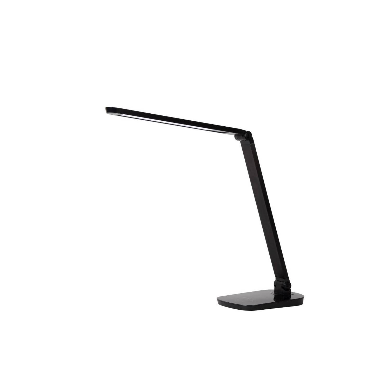 Lucide VARIO LED - Bureaulamp - LED Dimb. - 1x8W 2700K - Zwart