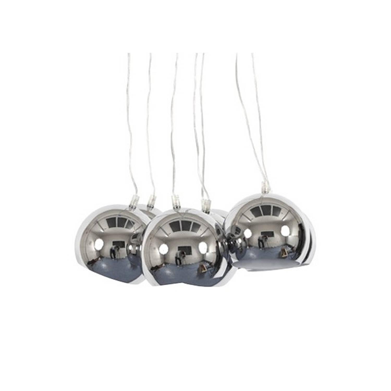 24Designs Hanglamp Seven - Chroom