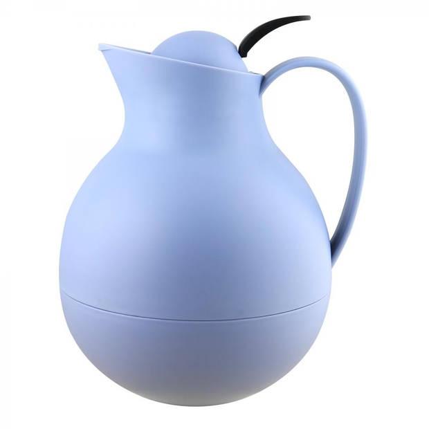 Blokker thermoskan - 1 liter - blauw