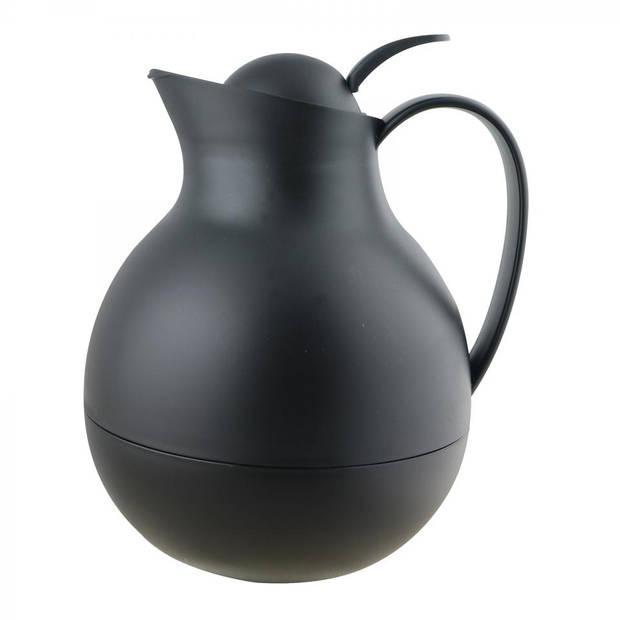 Blokker thermoskan - 1 liter - zwart