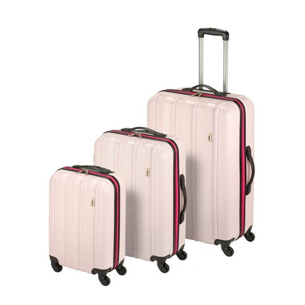 Princess Traveller Rome ABS - S - Sweet Pink