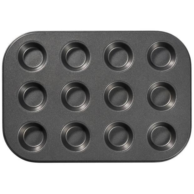 Blokker muffinvorm - mini - 12 stuks