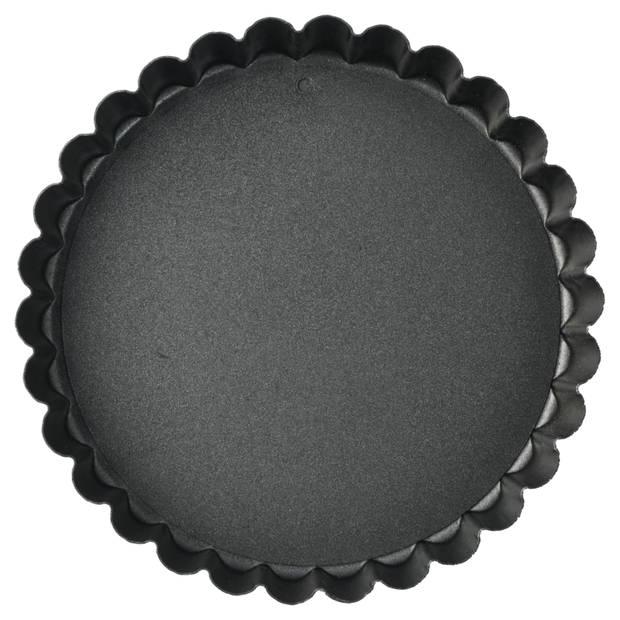 Blokker quichevorm - mini - met antiaanbaklaag - ø 12 cm