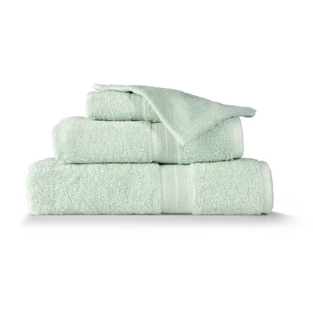 Blokker handdoek 500g - lichtgroen - 140x70 cm
