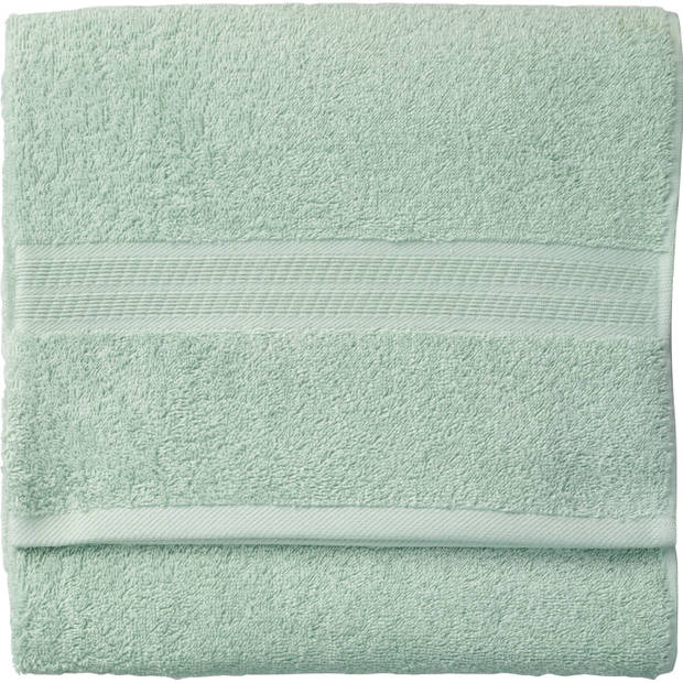Blokker handdoek 500g - lichtgroen - 110x60 cm