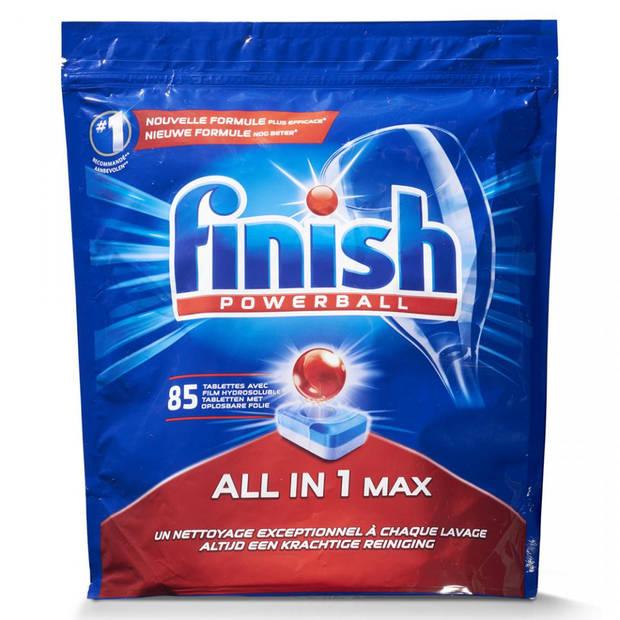 Finish All In 1 Regular vaatwastabletten - 85 tabs