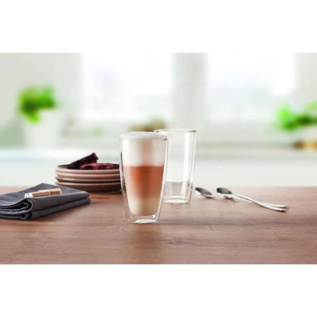 Montana Latte Macchiato glazen - dubbelwandig - 33 cl - set van 2