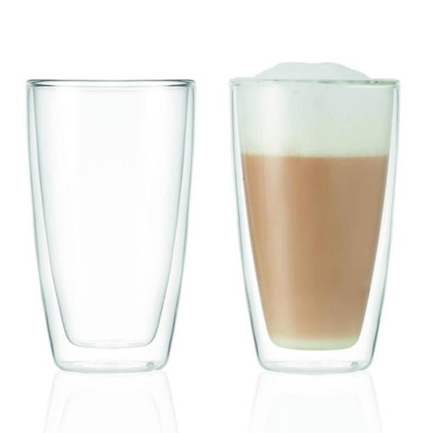 Montana koffieglazen - dubbelwandig - 25 cl - set van 2