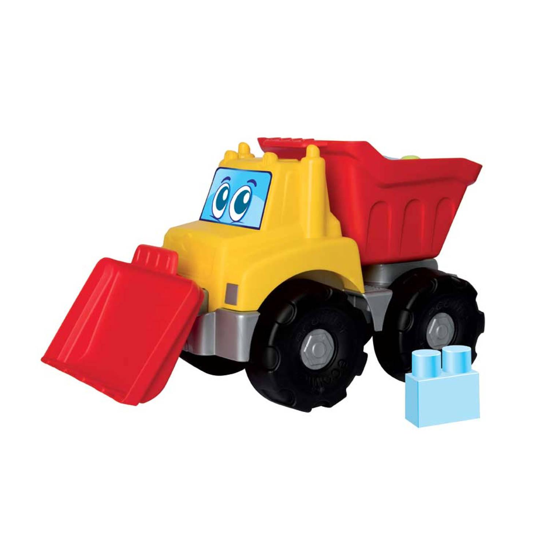 Afbeelding van Maxi Abrick kiepauto met blokken