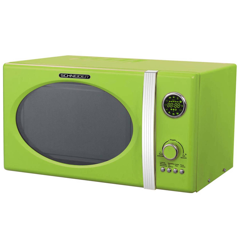 Schneider mw 823g lg grill combimagnetron lime green
