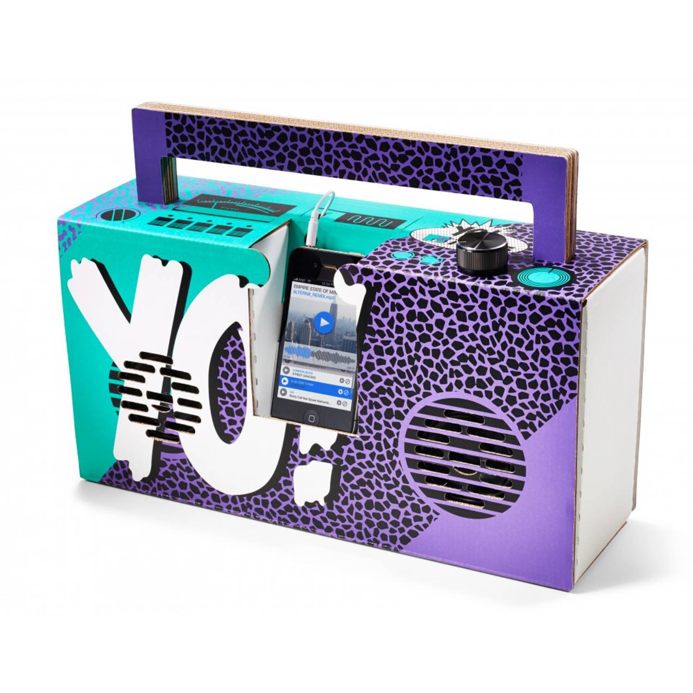 Berlin Boombox Speaker Yo! MTV Raps Paars