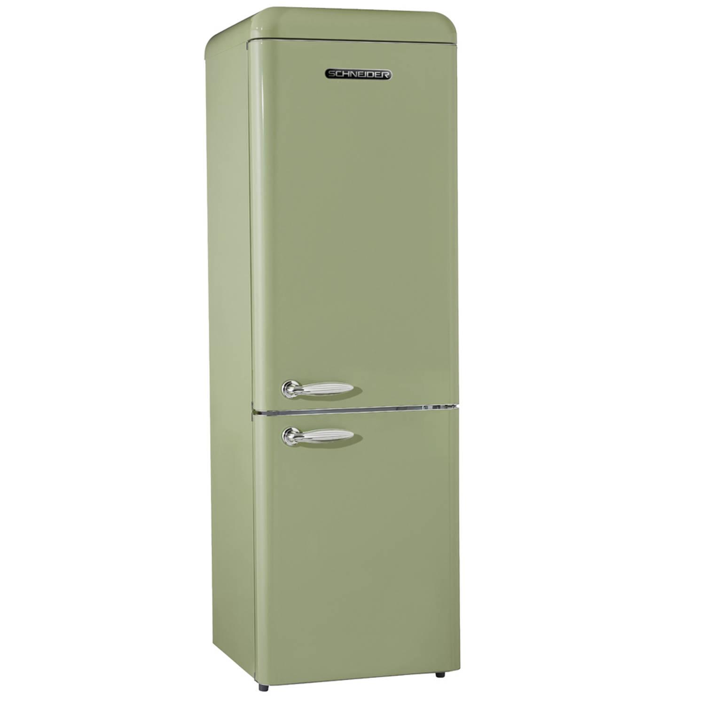 schneider sl 250 sg cb a retro koelkast groen blokker. Black Bedroom Furniture Sets. Home Design Ideas