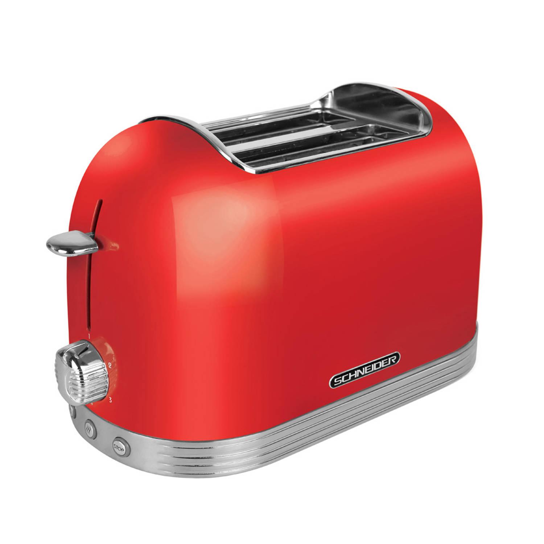 Schneider SL T2.2 FR Retro Broodrooster Fire Red