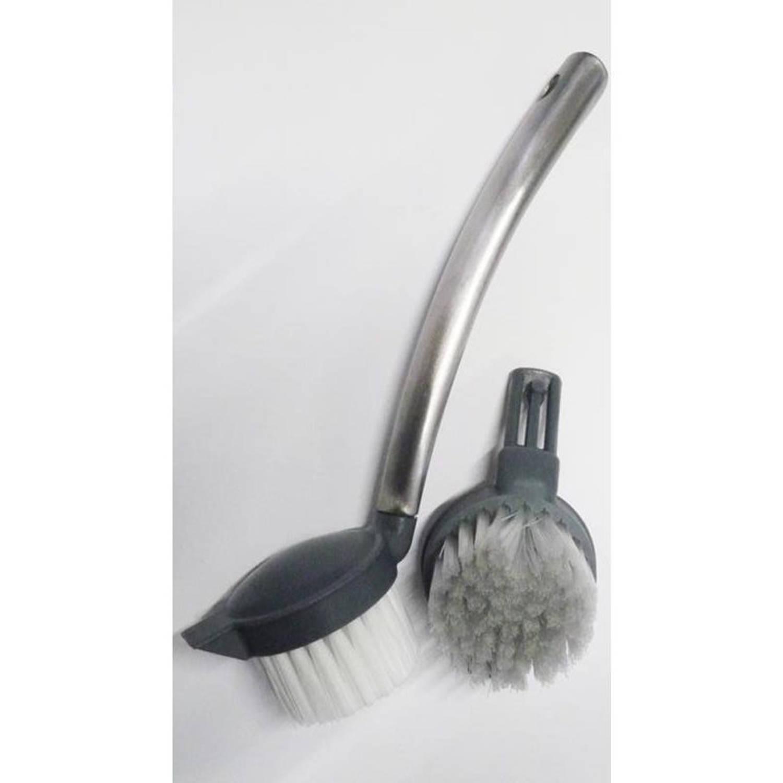 Afwasborstel met reservekop afwasborstels