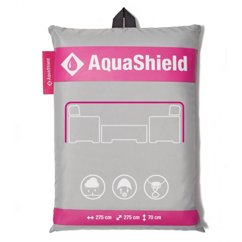 Aquashield loungeset hoes 275x275xH70 cm antraciet