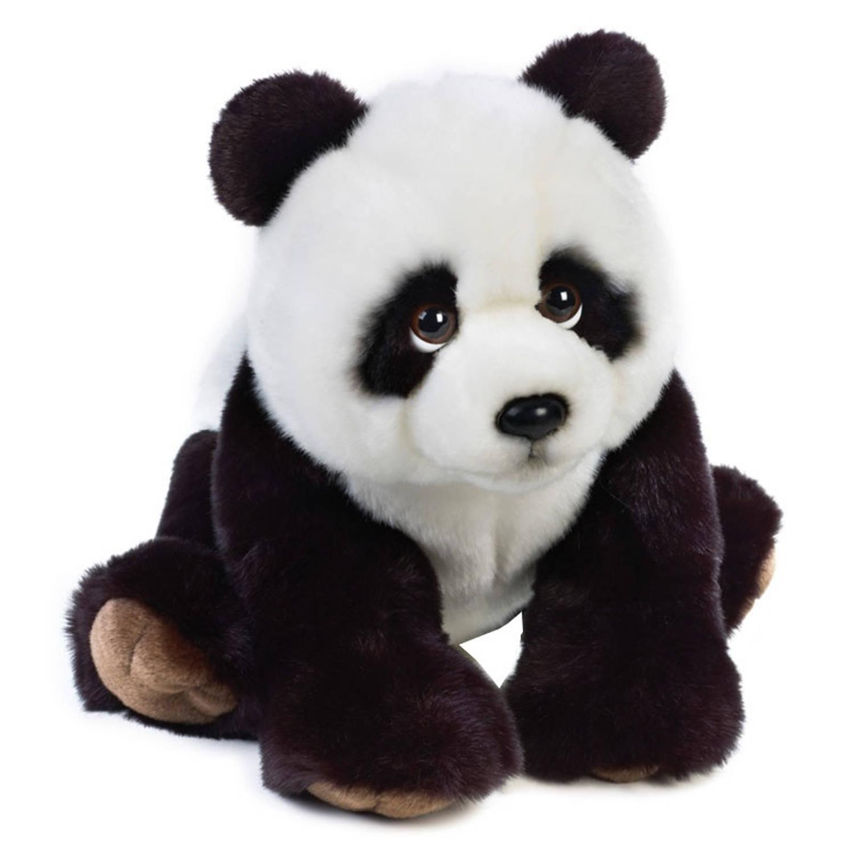 Lelly Knuffel Panda 40 cm wit/zwart