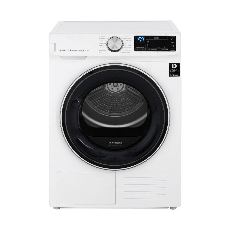 Samsung dv80n62532w/en warmtepompdrogers - wit