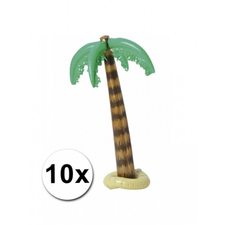 Afbeelding van 10x opblaasbare palmboom 90 cm