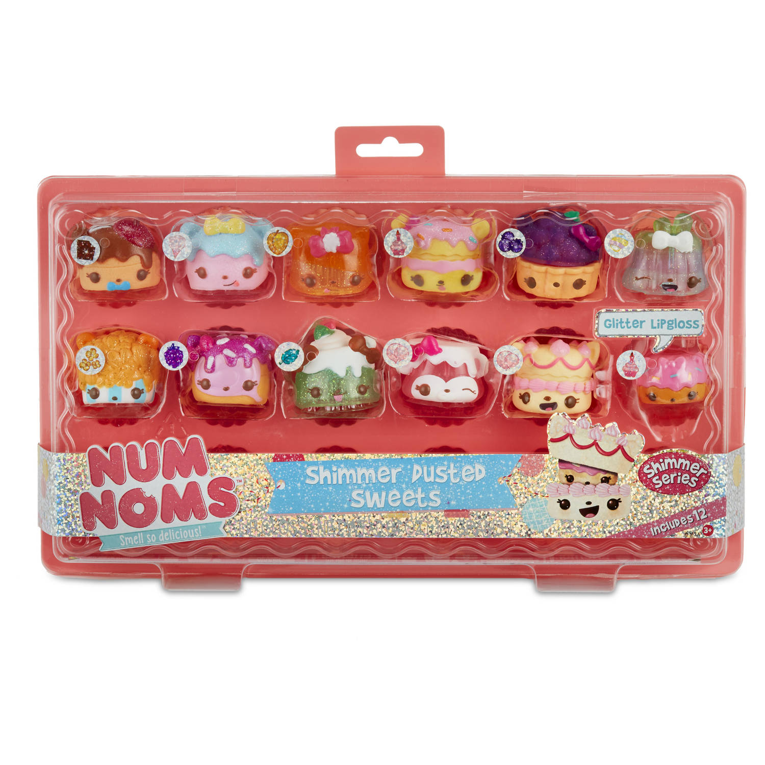 NUM NOMS CUPCAKE TRAY - SHIMMER SERIES