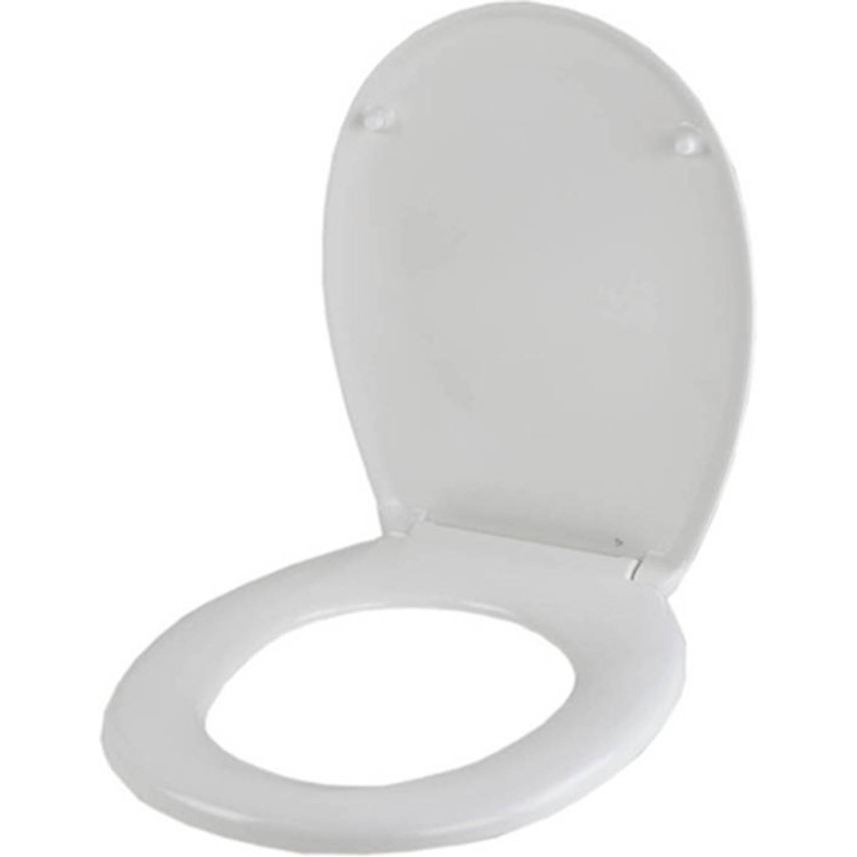 Softclose Wc Bril.Home Line Wc Bril Witte Toiletbril Met Softclose Deksel